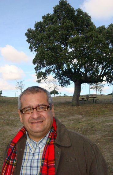 8 Ernesto Román Orozco en el campo charro (Salamanca, 2010)