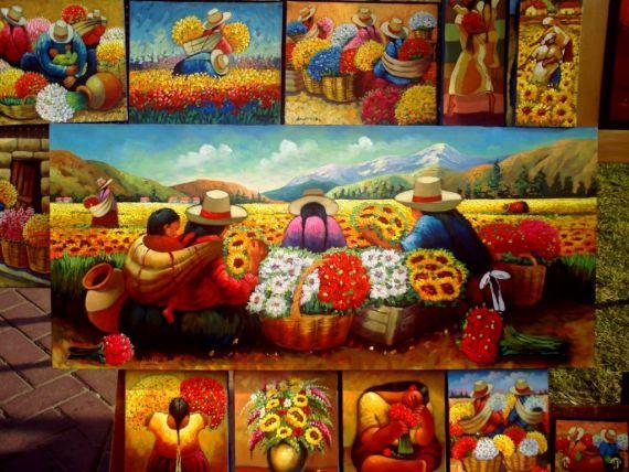 9 Floristas, de Walter Anicama