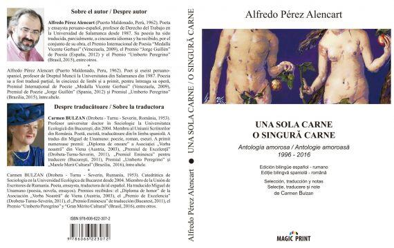1 Cubierta de la antología rumana editada por Carmen Bulzan y Magig Print