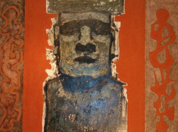 12 Moai, del español Jorge oliva lopez