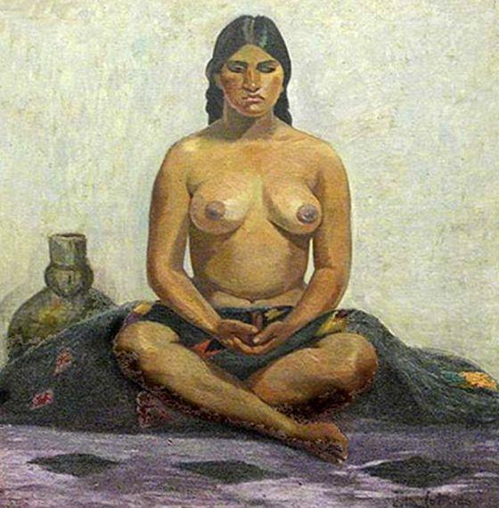 7 Mujer aborigen, de Julia Codesido