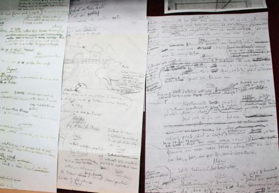 9 Manuscritos de Lucian Blaga