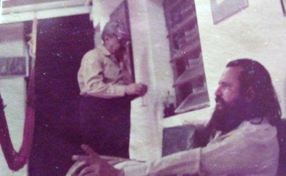 10 Salvador Garmendia y Elisio Jiménez Sierra en San Felipe, en la casa de éste último