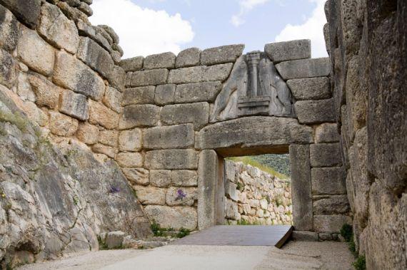 14 Puerta de los leones, Micenas
