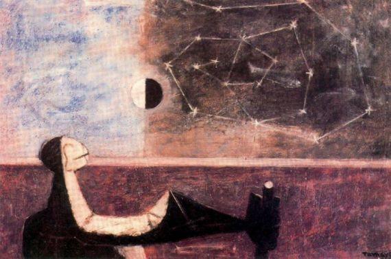 2 El hombre ante el infinito, de Rufino Tamayo