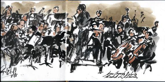 4 Concierto (boceto), de Miguel Elías b