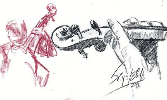 5 Dibujo de Miguel Elías