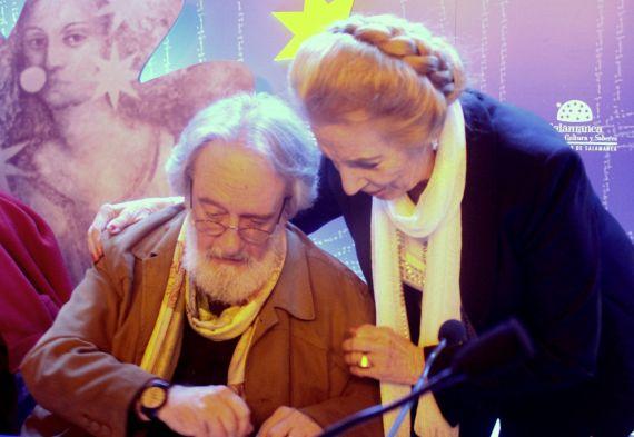 7 Enrique Gracia Trinidad y Pilar Fernández Labrador (foto de José Amador Martín)