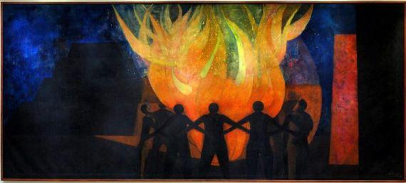 7 Fraternidad, de Rufino Tamayo