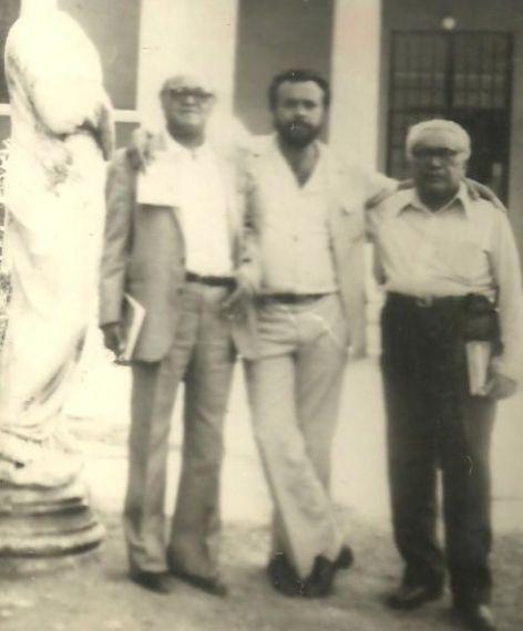 8 Alirio Díaz, Gabriel Jiménez Emán y Elisio Jiménez Sierra (Esparta, Grecia,1985)