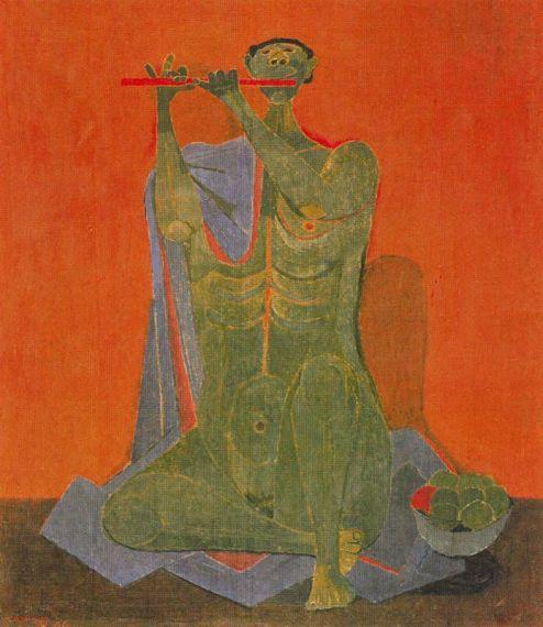 8 El flautista, de Rufino Tamayo