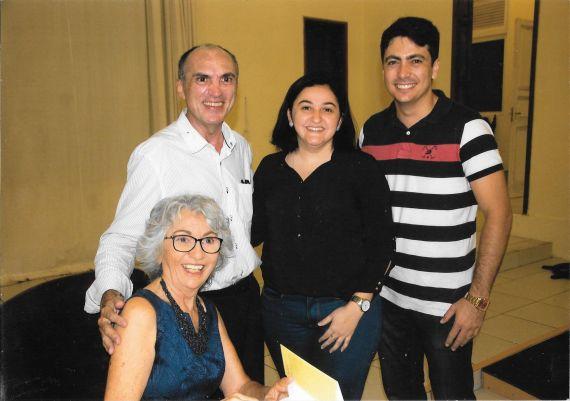 4 Rizolete Fernandes con David Leite y otros amigos