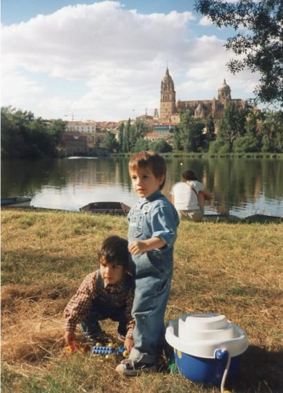 10 José Alfredo (con el Tormes y su Salamanca)