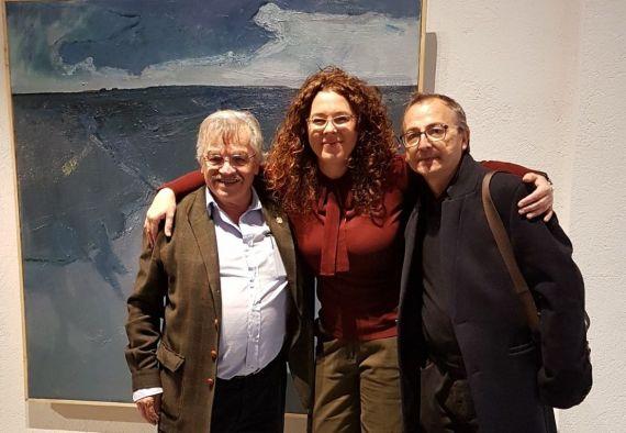 11 José Carralero, Macarena Ruiz y Miguel Elías