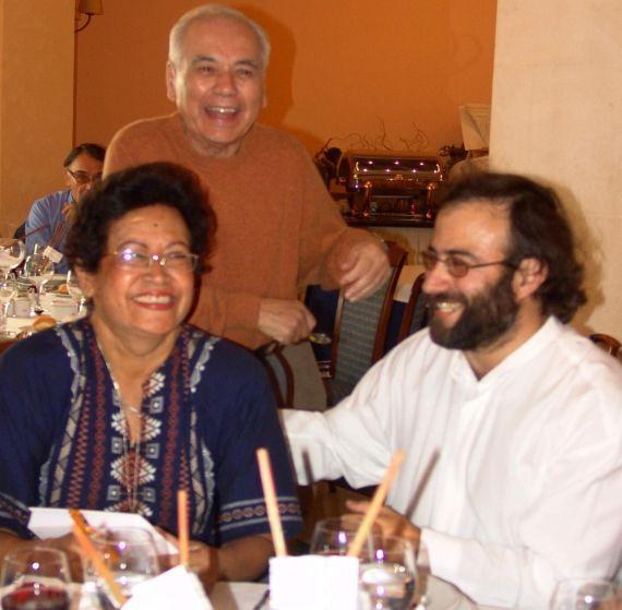 16 Ana Ilce Gómez (Nicaragua), Pompeyo del valle (Honduras) y Alfredo Pérez Alencart Alencart (Perú-España)