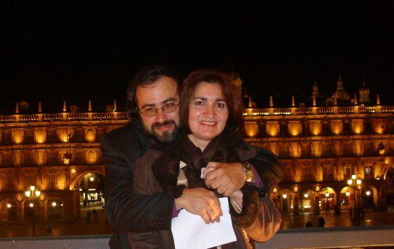16 Matrimonio Alencart (en la Plaza Mayor, 2007)