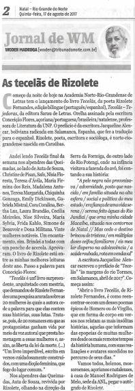 16 Tecelas - Tejedoras, de Rizoletes Fernandes,