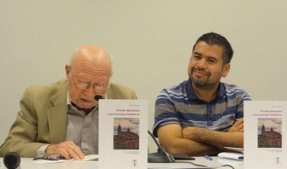 2 José Luis Najenson y Marcelo Gatica, durante la presentación en la Universidad de Salamanca