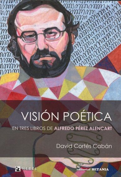 2 Portada de 'Visión poética...', con retrato del pintor Emerenciano