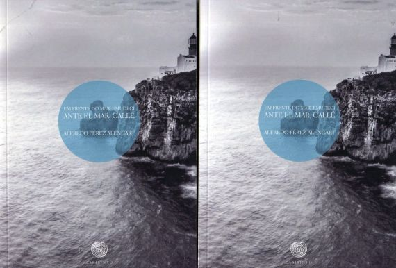 2 Portada del poemario 'Ante el mar, callé - Em frente do mar, emudeci'