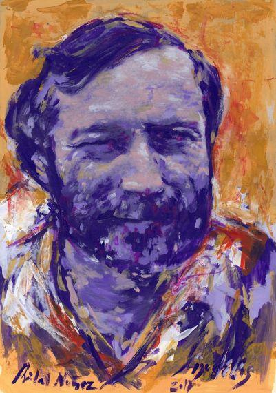 2 Retrato de Aníbal Núñez, por Miguel Elías
