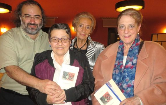 3 Alfredo Pérez Alencart, Lilliam Moro, Pilar Fernández Labrador y Carmen Ruiz Barrionuevo