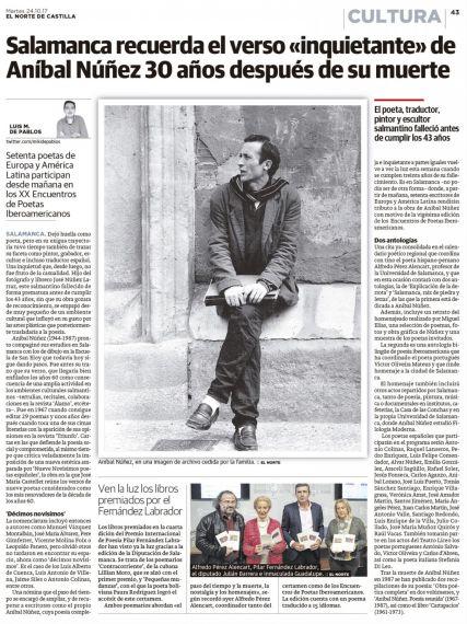 3 XX Encuentro en homenaje a Aníbal Núñez