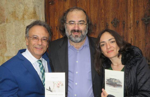 4 José Pulido, Alfredo Pérez Alencart e Ingrid Valencia (Foto de Jacqueline Alencar)