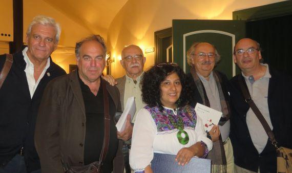 4 Soler, Martín, Serrano, Rodríguez Leytón, Colinas y Muñoz Quirós (foto de Jacqueline Alencar)