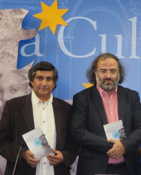 5 El editor Joao Artur Pinto y Alfredo Pérez Alencart (foto de Jacqueline Alencart)