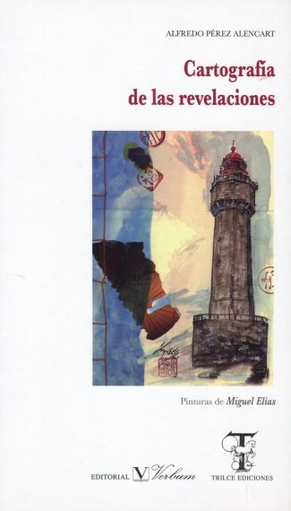 5 Portada de Cartografía de las revelaciones, con pintura de Miguel Elías