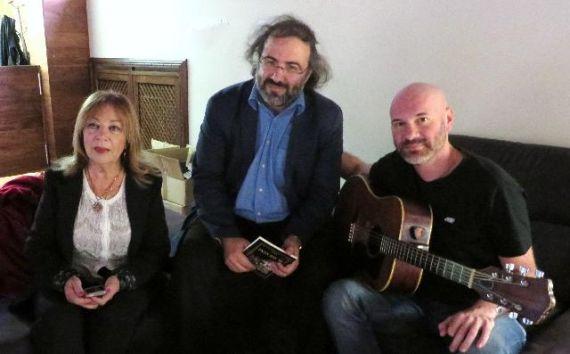 6 Margalit Matitiahu, Alfredo Pérez Alencart y Asi Meskin (foto de J. Alencar)
