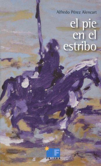 6 Portada de El pie en el estribos, con pintura de Miguel Elías