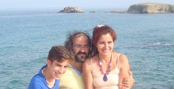 9 José Alfredo, Alfredo y Jacqueline, en Almería