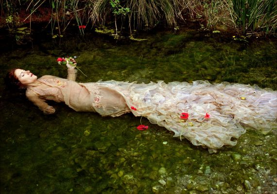 11 Ofelia, fotografía de Silvia Camporesi (2004)
