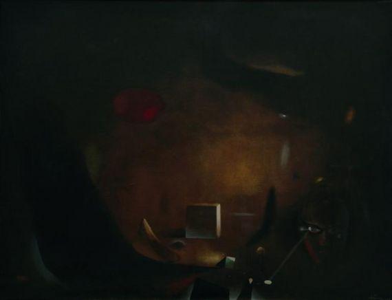 12 El cuarto oscuro., de Antoni Tapiés