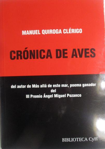 2 CRÓNICA DE AVES, libro
