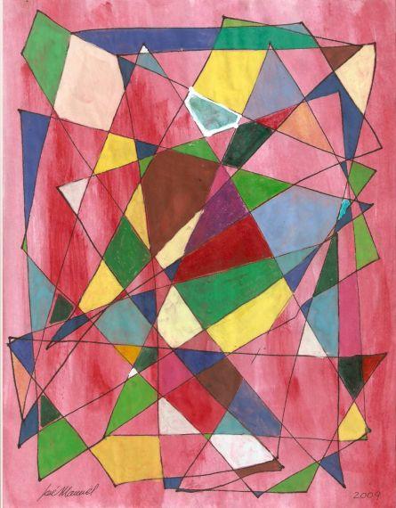 6 Cristales rotos, de Juan Manuel González