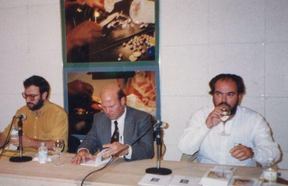 7 Alencart, Sambra y Felipe Lázaro, en la Casa de las Conchas