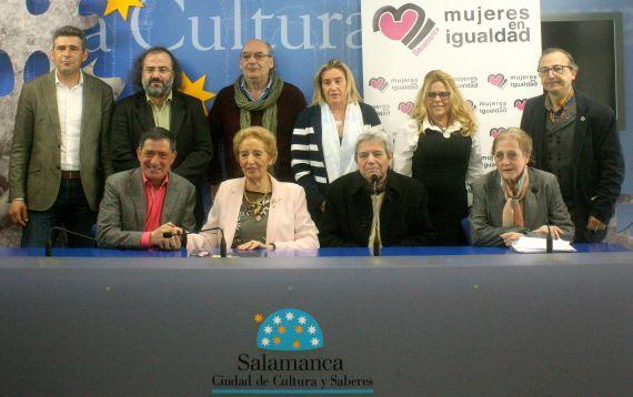 1 Jurado de la IV edición, en la Sala de la Palabra (foto de José Amador Martín)