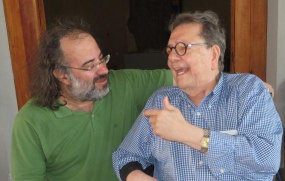 12 Alfredo Pérez Alencart y Francisco de Asís Fernández, tras la presentación