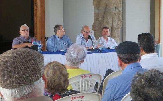 13 Otro momento de la intervención de Emilio Coco en la Sala Rubén Darío