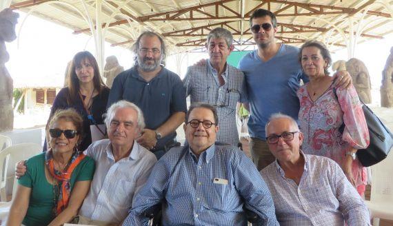 16 Chichí con Gabuardi, Martínez, Ripoll, Montealegre, Alencart, Visor, Pérez y Acosta