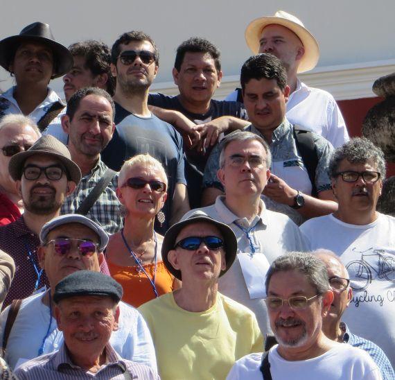 5 Anastasio Lovo y Humberto Avilés, en primera fila