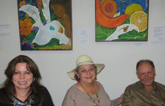 6 Juanita Büschting , Carol Bendaña y Anastasio Lovo