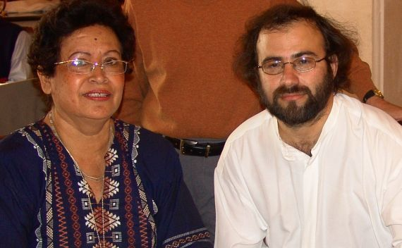 8 Ana Ilce Gómez y A. P. Alencart, en Salamanca 2005