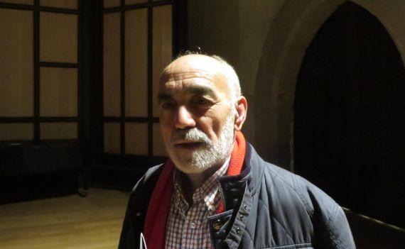 1 El escritor Julio Collado (foto de Jacqueline Alencar)