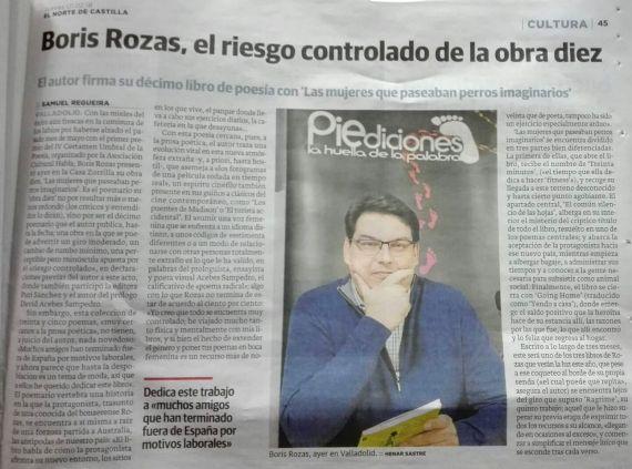 12 Nuevo libro de Boris Rozas