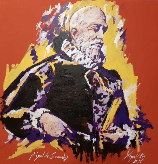 15 Retrato de Miguel de Cervantes, de Miguel Elías