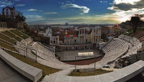 2 Anfiteatro romano de Plovdiv